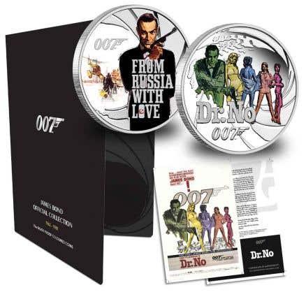 The James Bond Official Coin Collection