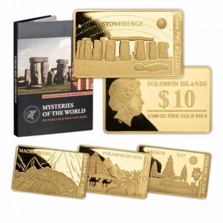 Mysteries of the World Gold Coin Collection