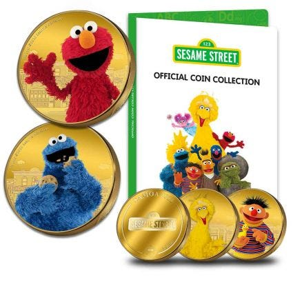 Official Sesame Street Coin Collection