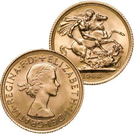 Queen Elizabeth II Sovereign Portrait Collection T1766