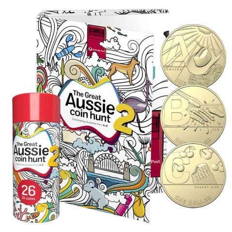 Great Aussie Coin Hunt 2021 $1 Aluminium-Bronze Uncirculated 26-Coin Set
