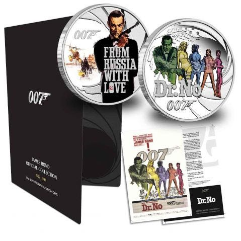 The James Bond Official Coin Collection