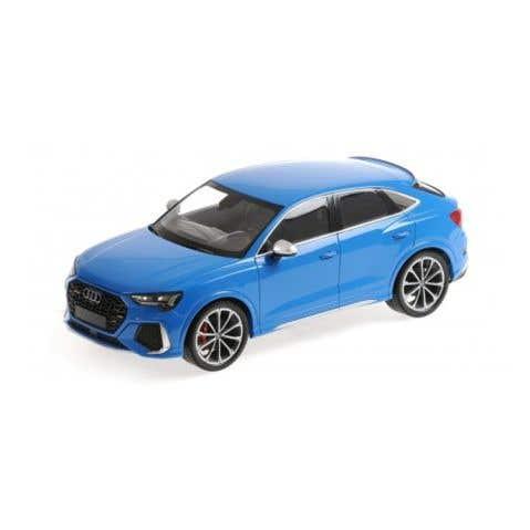 Audi RS Q3 - 2019 - Turbo Blue - 1:18 Model Car