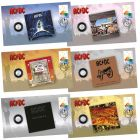 AC/DC Stamp & Coin Cover Set of 6
