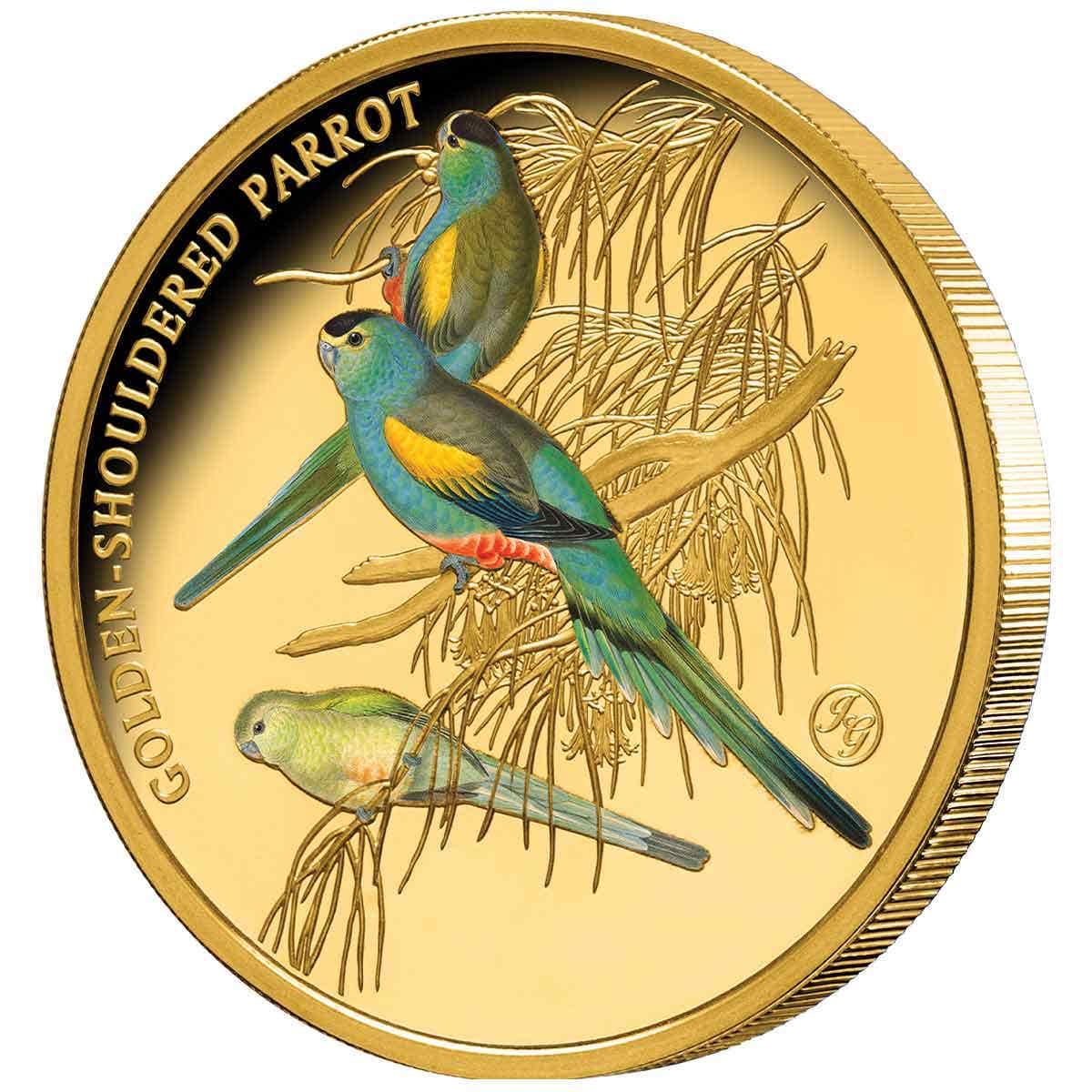 Gold-Shouldered Parrot