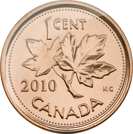 Canadian Penny - Reverse