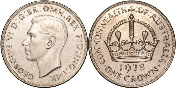 1938 Crown Proof FDC