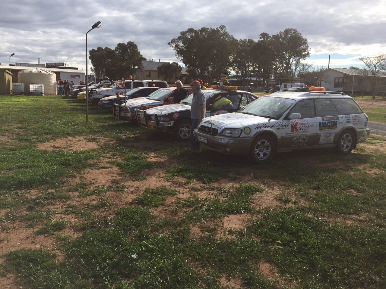 Some of the Kars in Ouyen