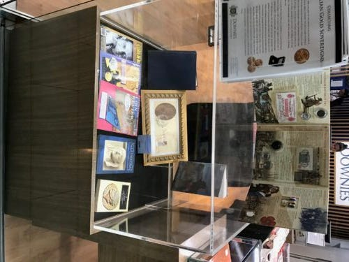 Ancient Coin Book Display