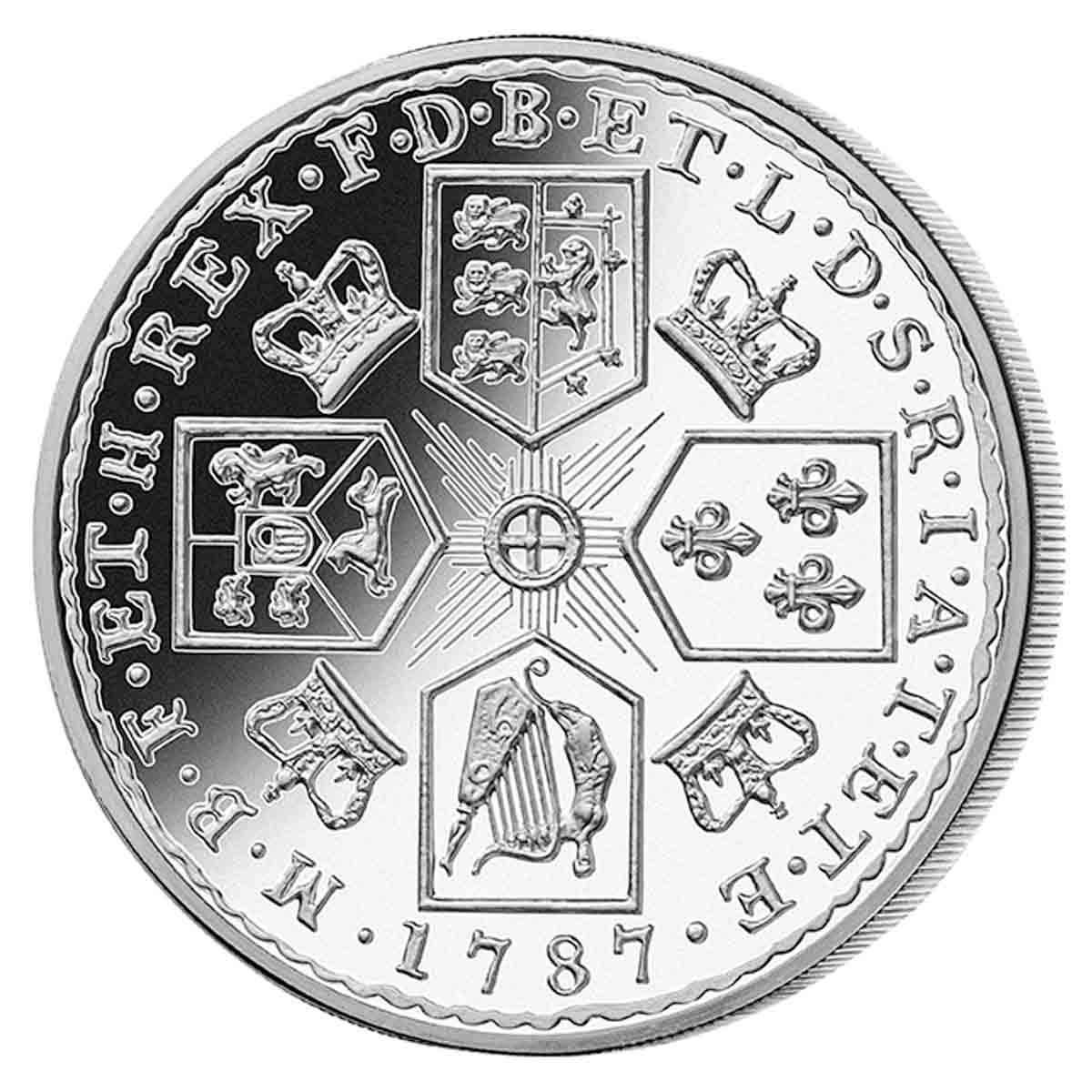 1787 GB Silver Shilling