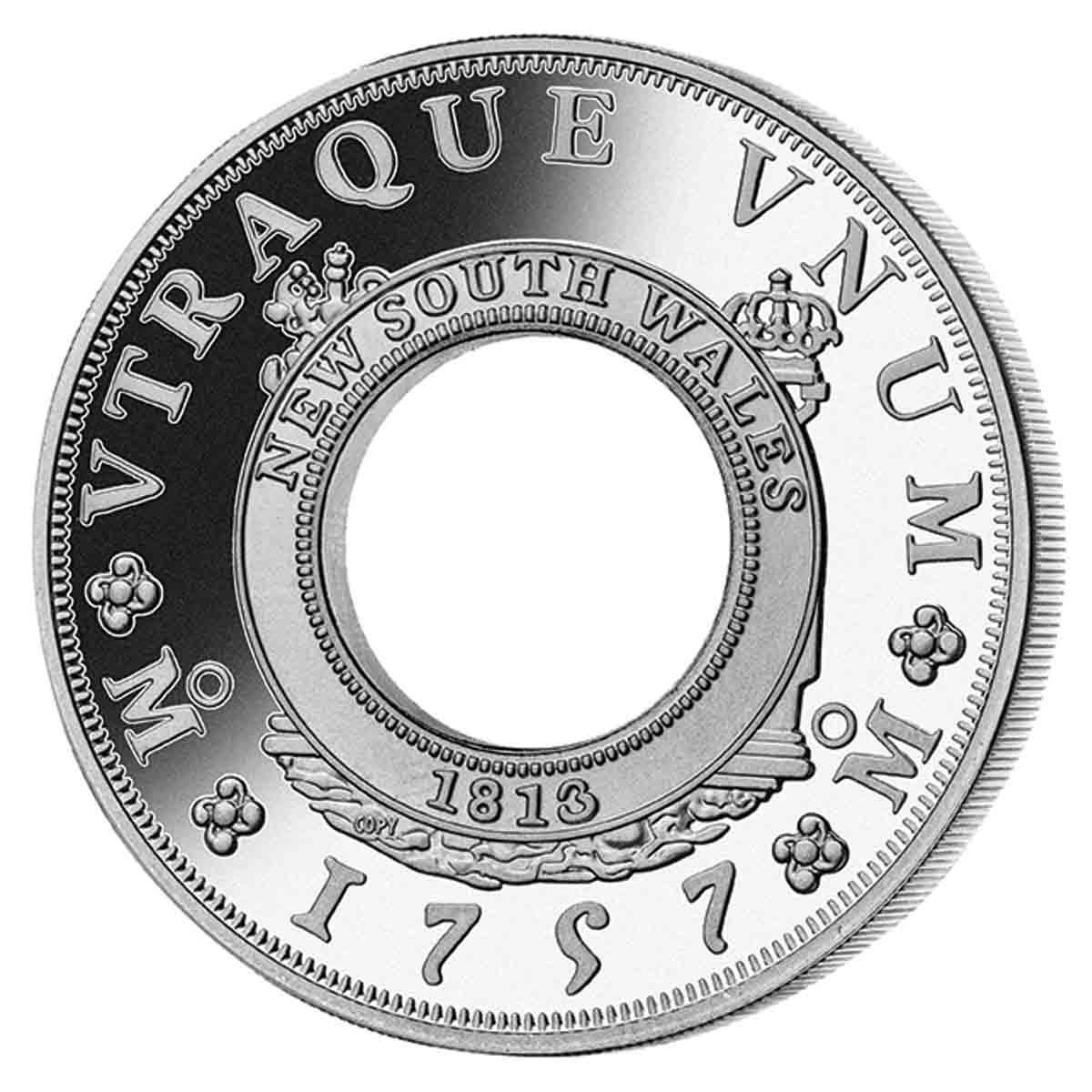 1757 Holey Dollar