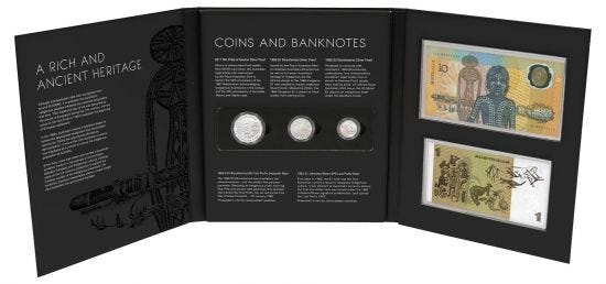 The Indigenous Coin and Banknote Premium Portfolio is now available at Downies