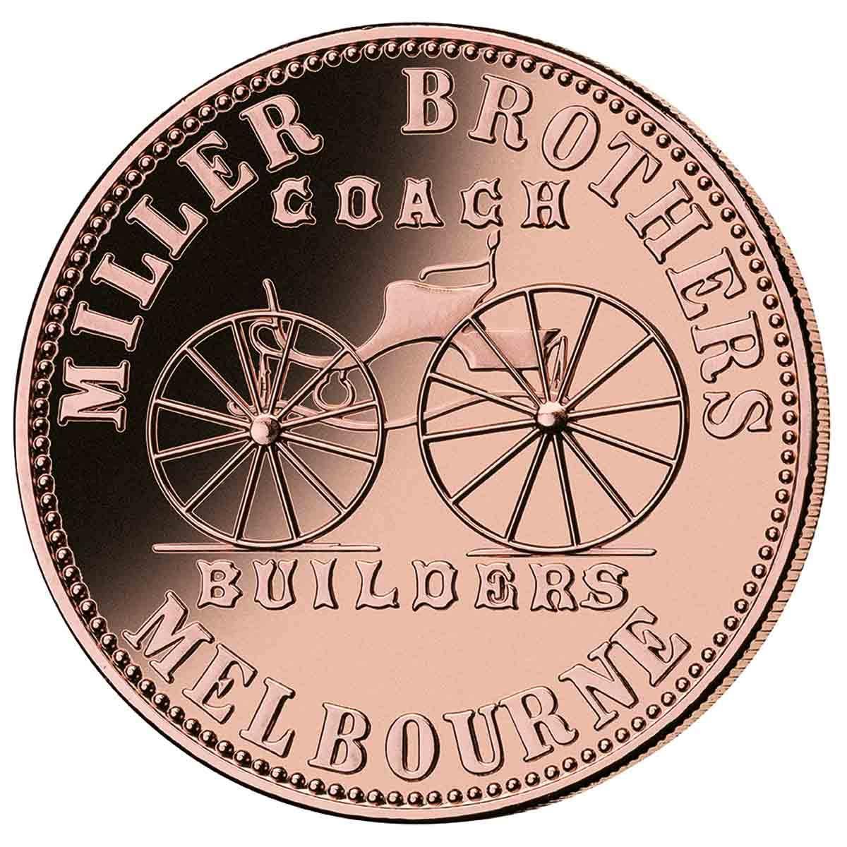 1862 Miller Brothers Token