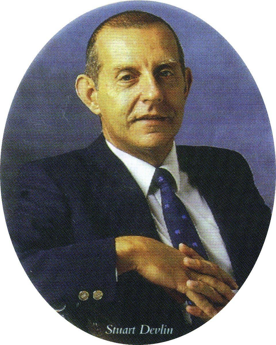Portrait of Stuart Devlin