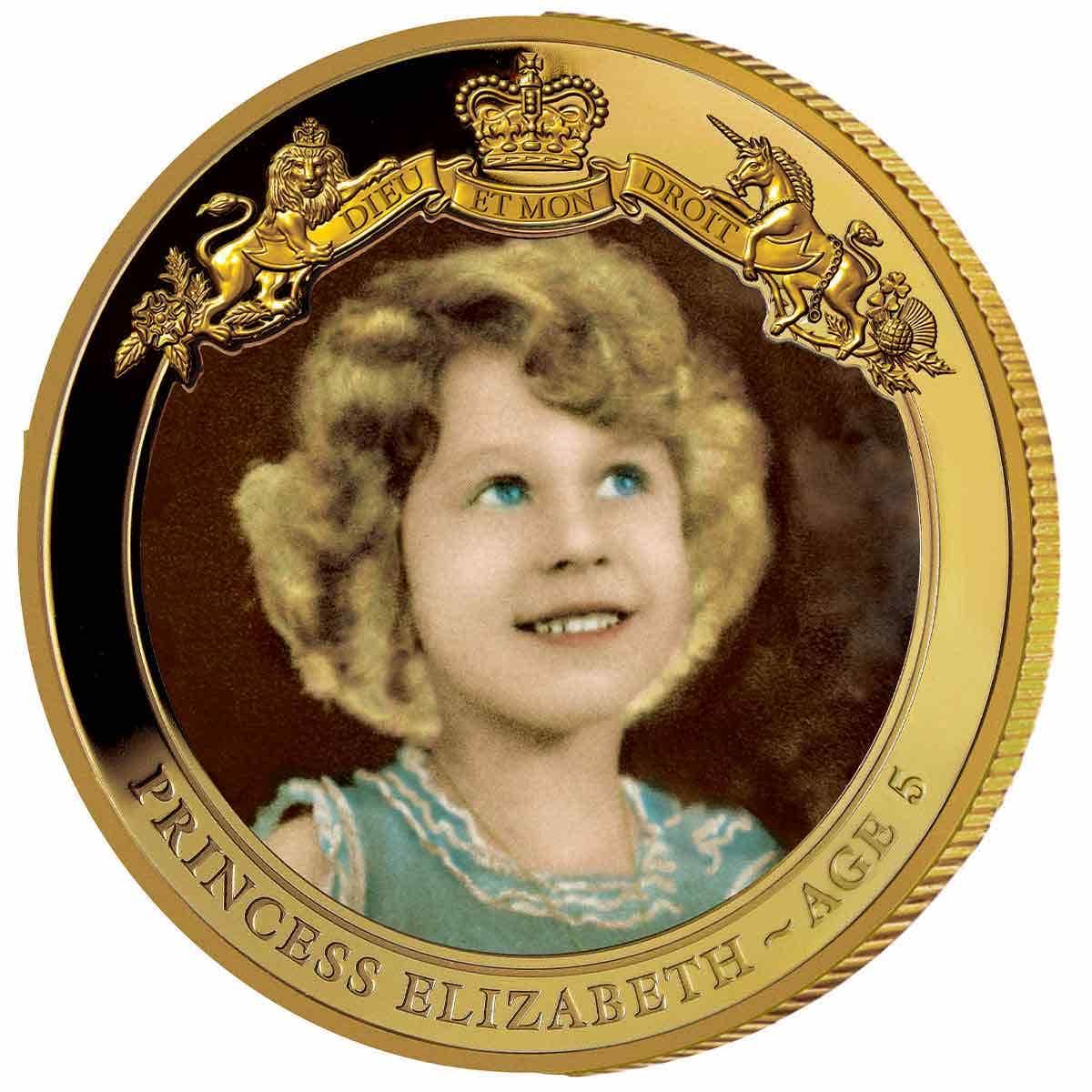 Princess Elizabeth Aged 5