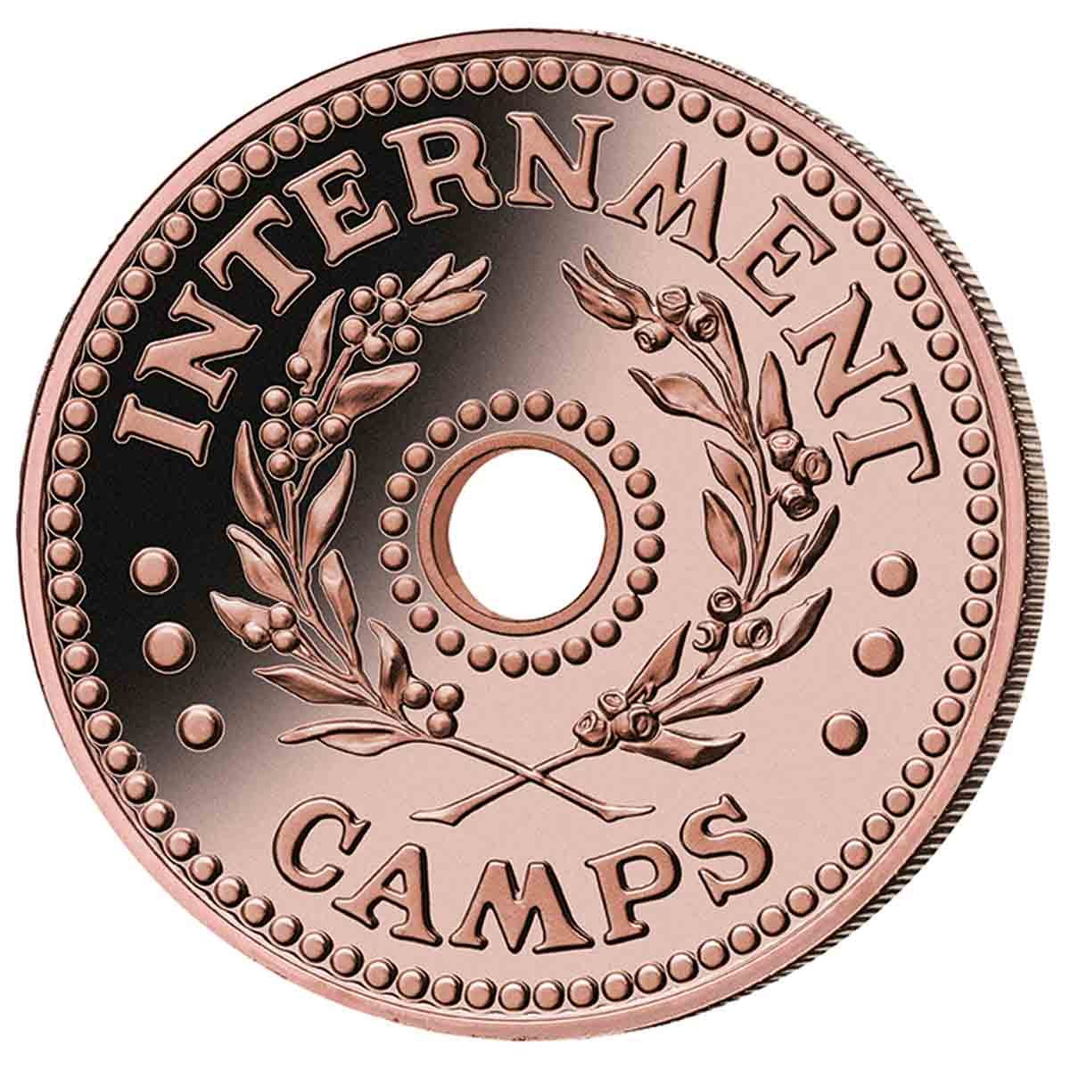 WWII Internment Camps Token