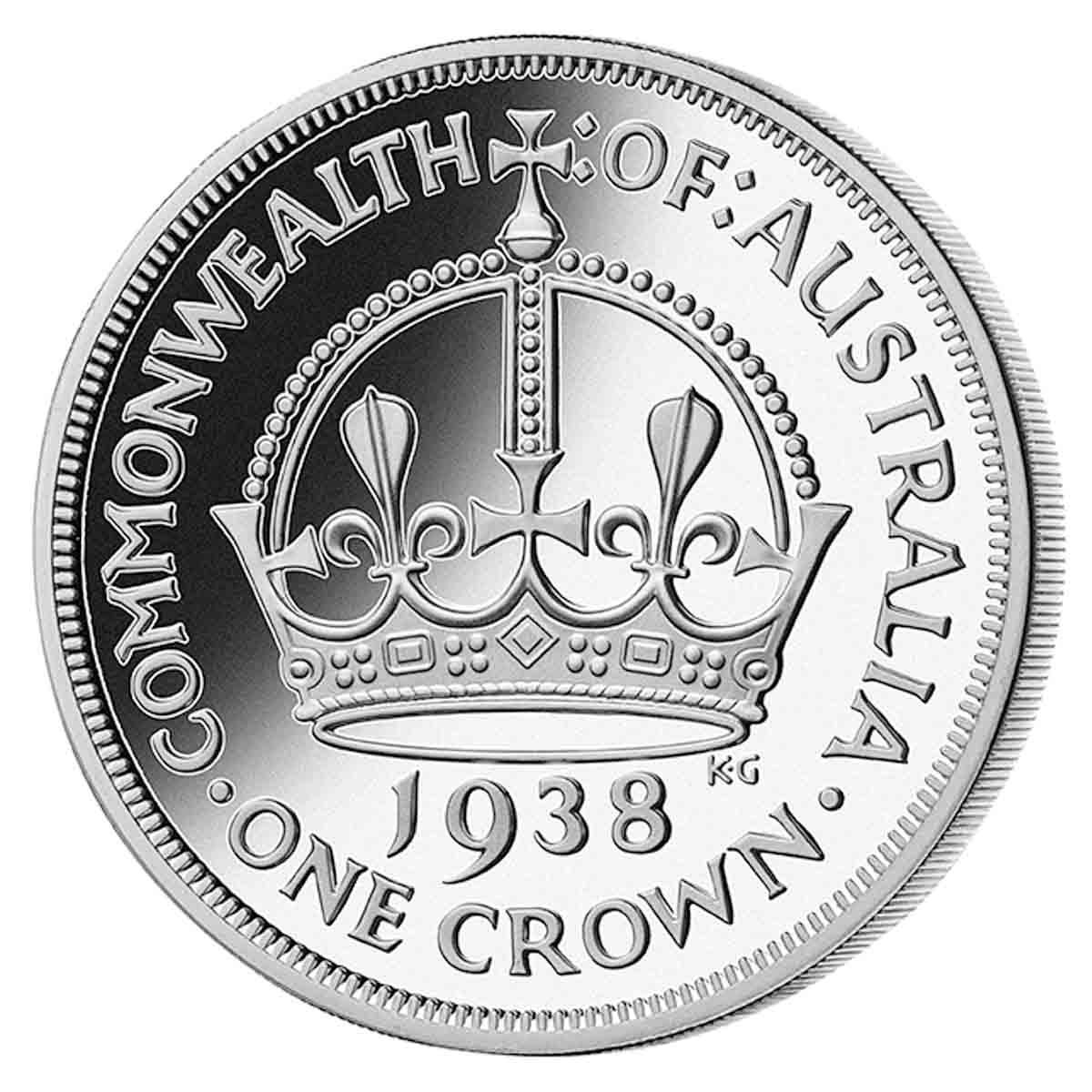 1938 Australian Crown