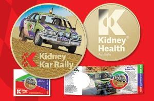 2019 Kidney Kar Rally Medallion