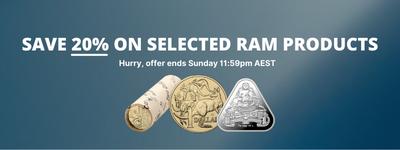 RAM 20% Off Sale