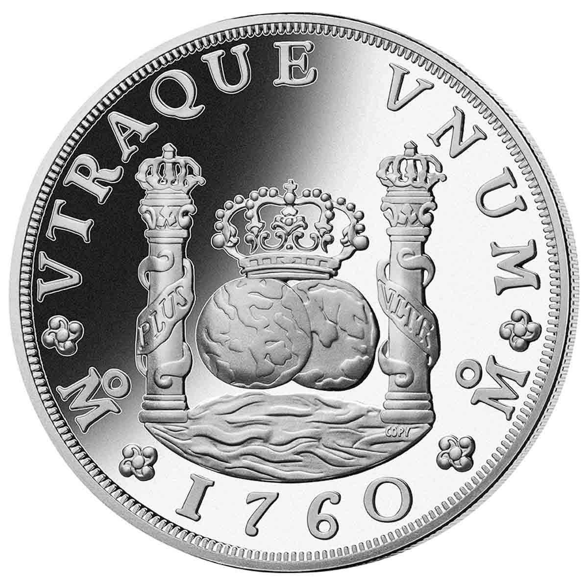 1760 Spanish American Pillar Dollar