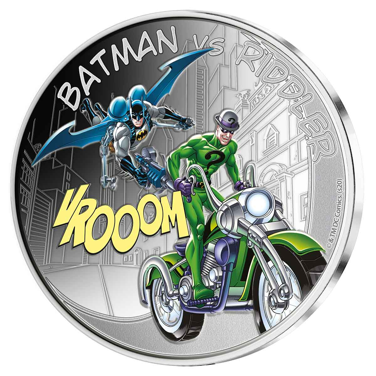 Batman v Riddler