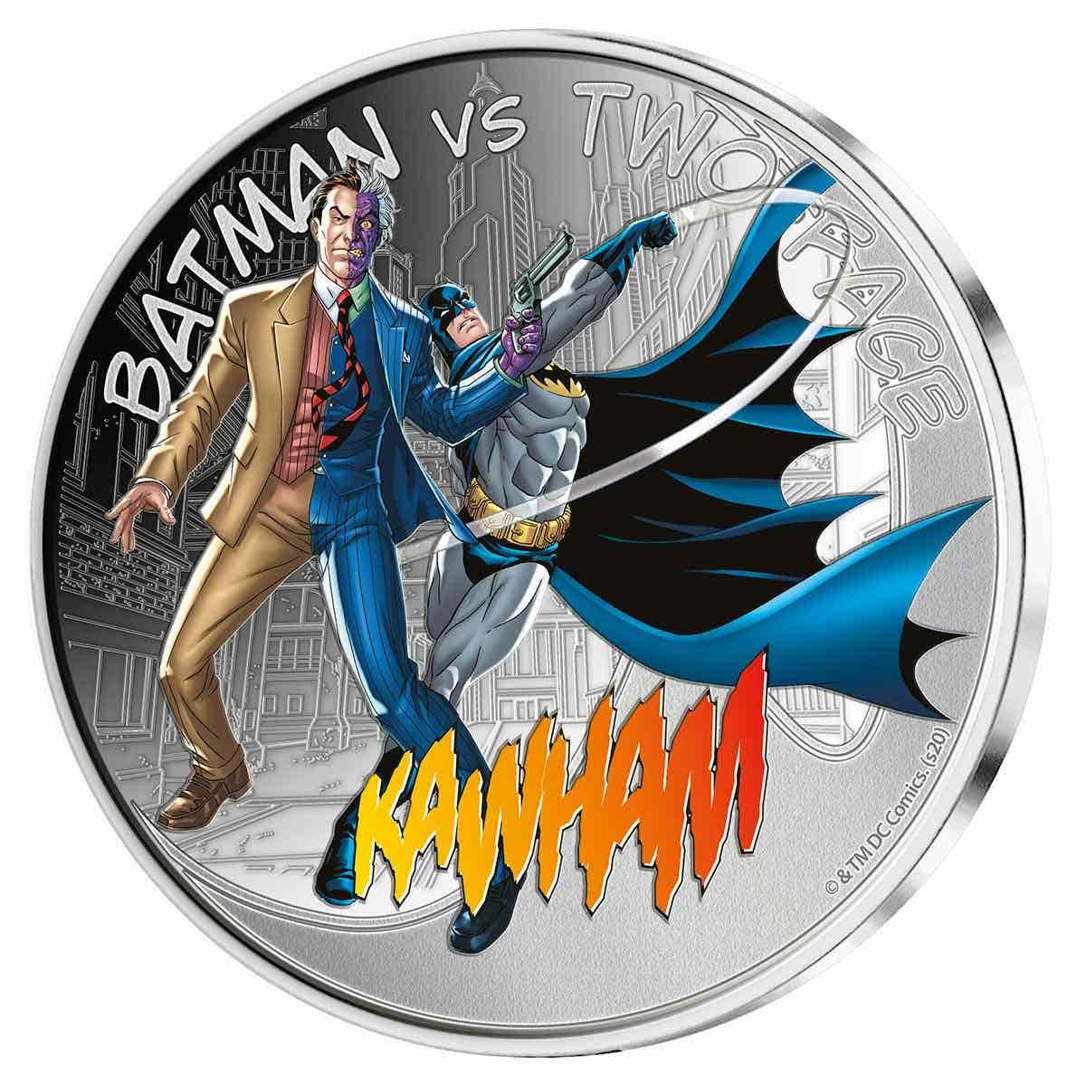 Batman v Twoface