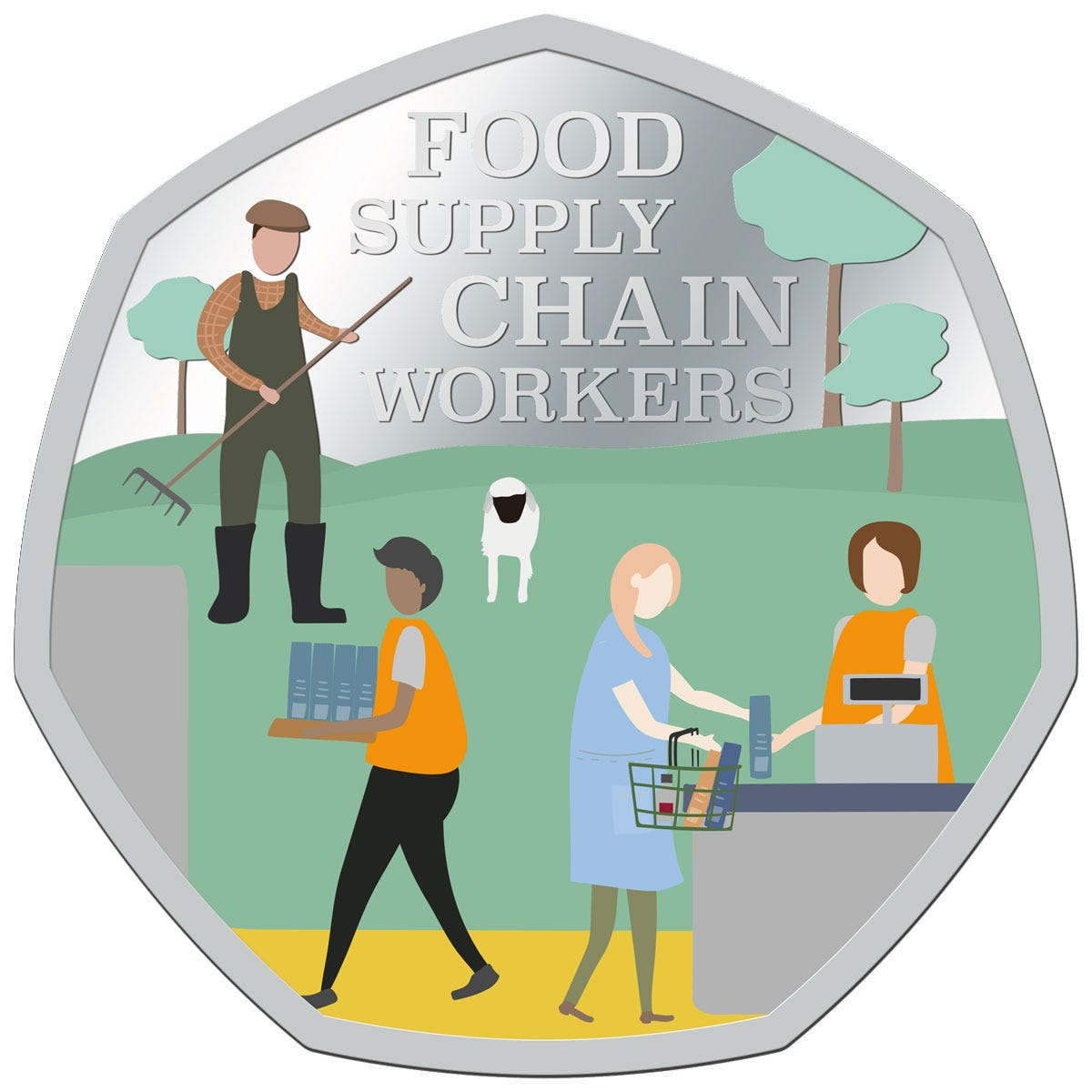 Thank-you Food Supply Chain Workers