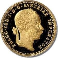Austria 1915 Ducat Gold Coin (obverse)