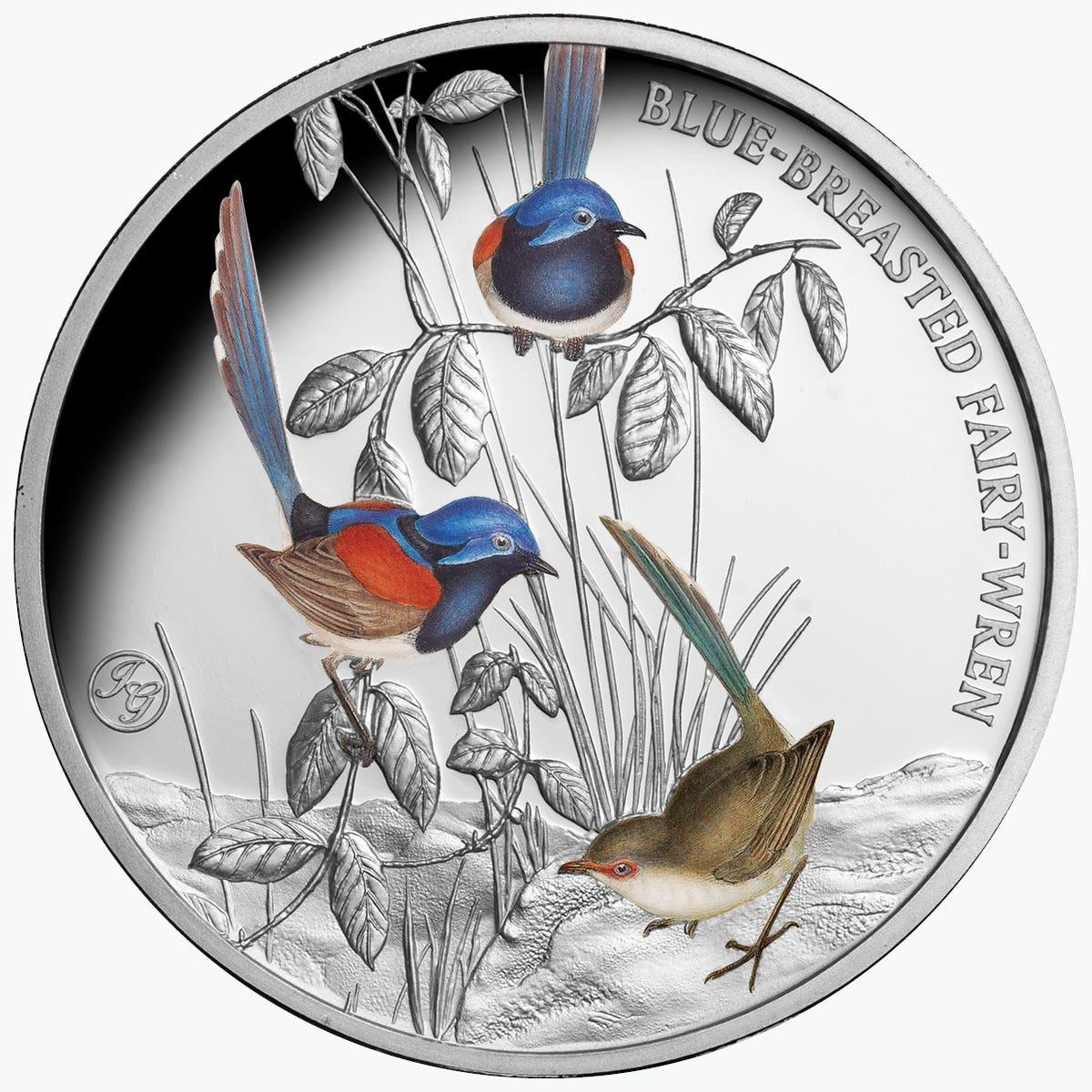 Gould Birds Fiery Parakeet