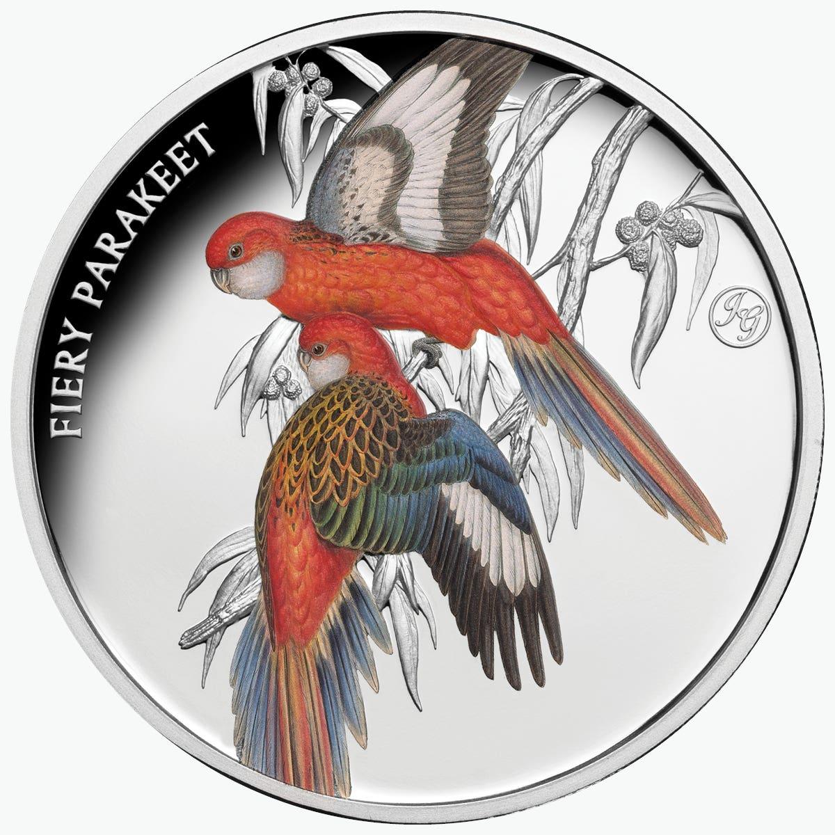 Gould Birds Galah Cockatoo